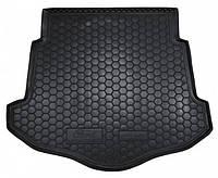 Коврик в багажник для Ford Mondeo lV (2007-) (лифтбэк) (с докаткой) ( пластик ) ( Avto-Gumm )