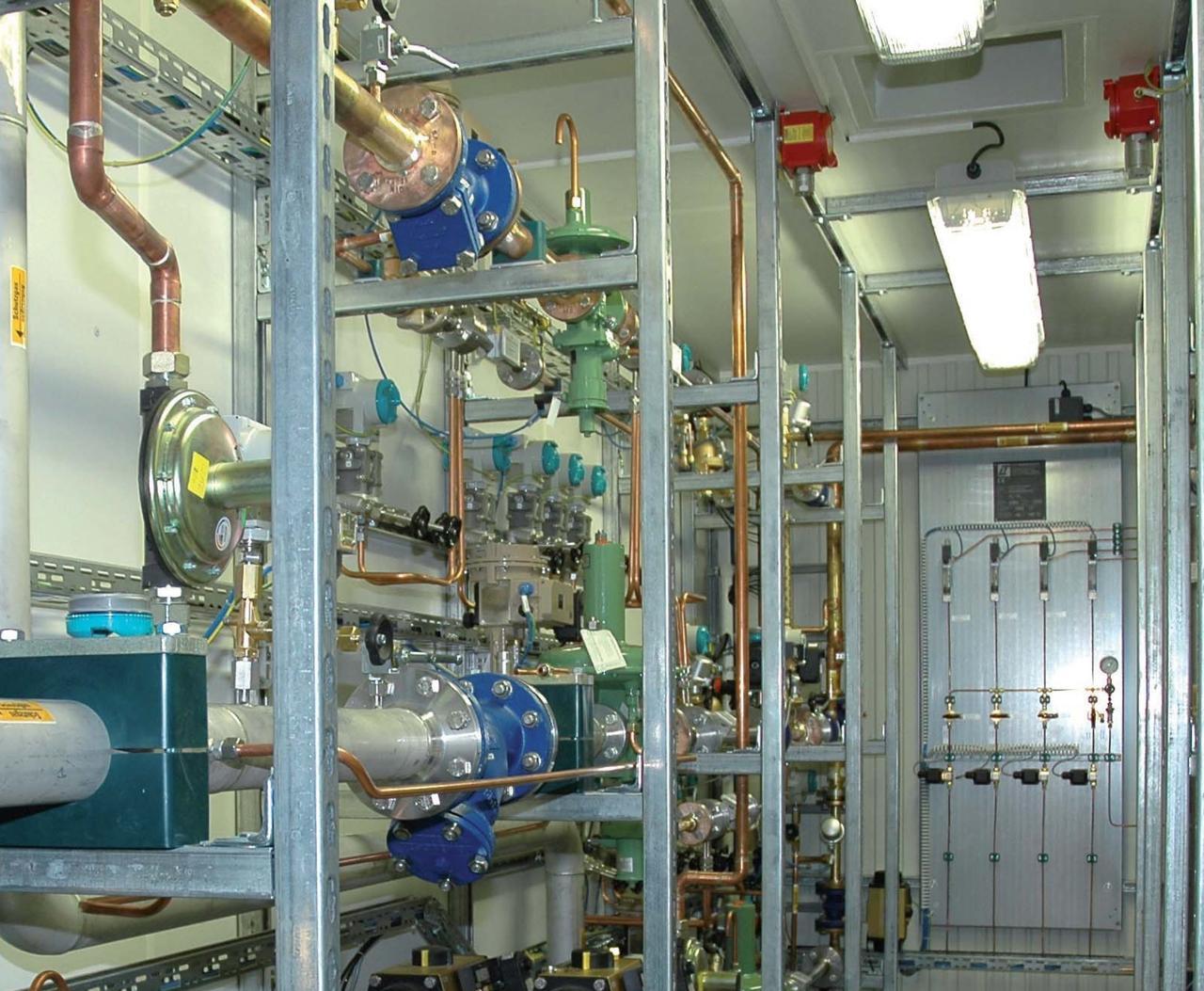 Системы газоснабжения для стекольной промышленности L+T Gasetechnik