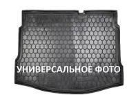 Коврик в багажник для авто RENAULT Laguna II (2001>) (седан) пластик ( AVTO-Gumm )