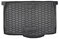 Коврик в багажник для авто OPEL Corsa D (2006>) (5 дв.) (нижняя полка) пластик ( AVTO-Gumm )