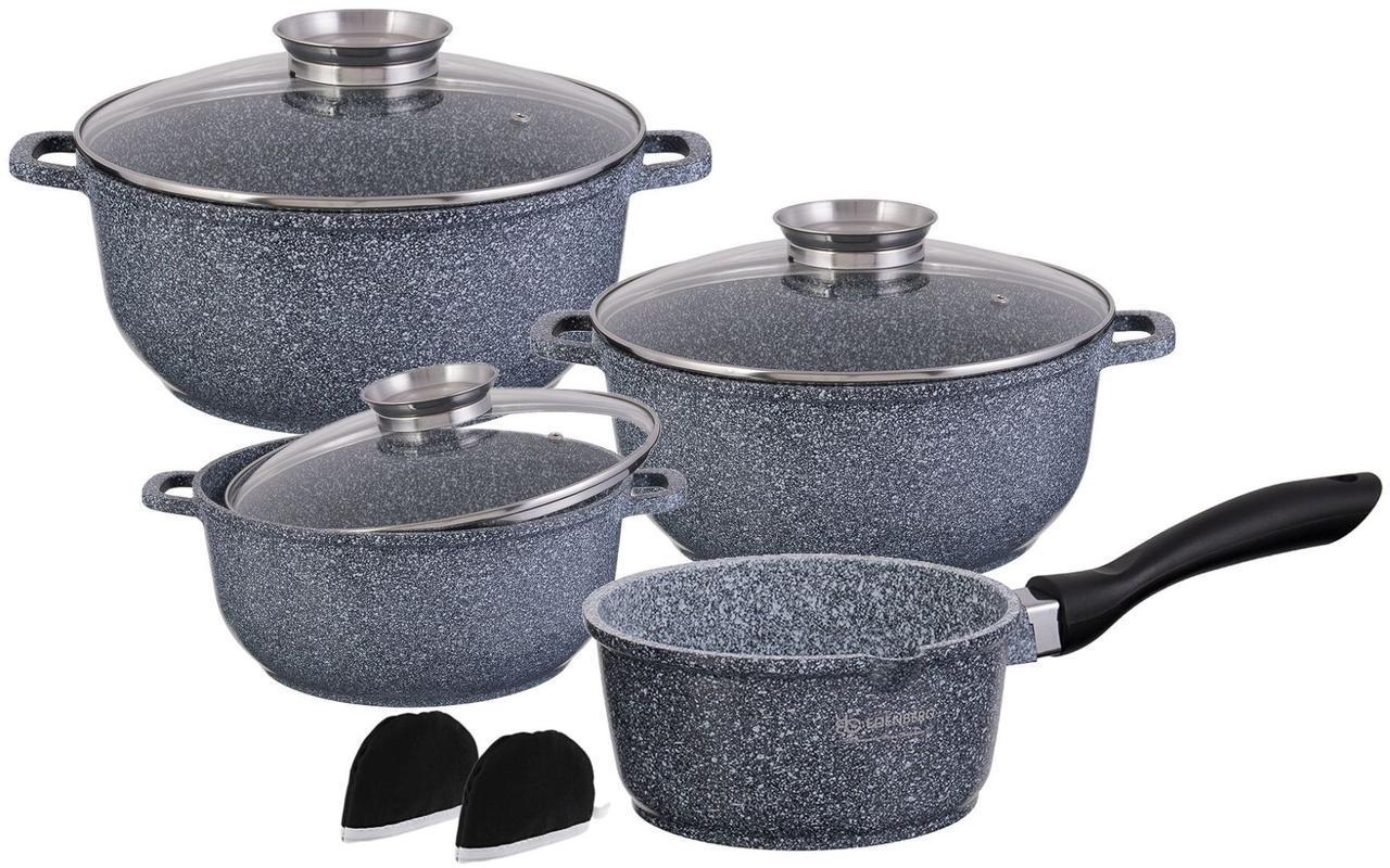 Набор посуды 7 предметов Edenberg с гранитным покрытием (EB-8010)