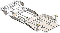 Защита двигателя, КПП, РКПП, передний мост для авто Great Wall Haval H9 2017- V-2,0 TDI AКПП 4x4 ( TM Kolchuga ) Стандарт