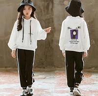 Толстовка та штани / детские спортивные костюмы повседневные радужные худи и штаны, комплекты