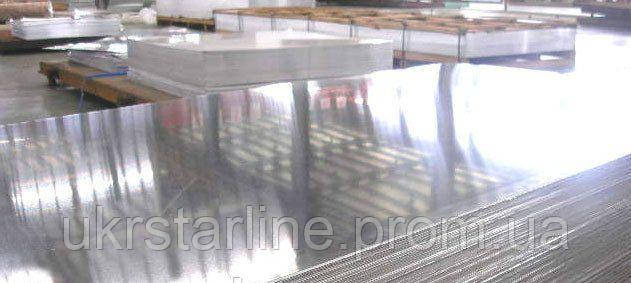 Лист алюминиевый гладкий Д1Т 60х1520х3000 мм (2017) дюралевый лист