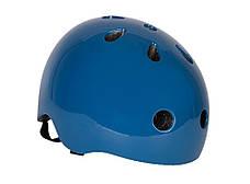 Велосипедный шлем Trybike 47 53см синий (COCO 12S), фото 3