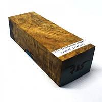 Стабилизированная древесина брусок Сувель дуба гибрид  КРИЛАТ  135х47х35
