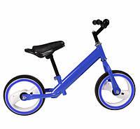 Беговел - велобег Tilly 12 дюймов Eva T-212515 со светящимися колесами Синий