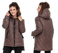 Женские демисезонные куртки весна осень размеры 42-70