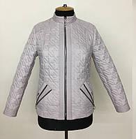 Женская демисезонная куртка пиджак размеры 50-60