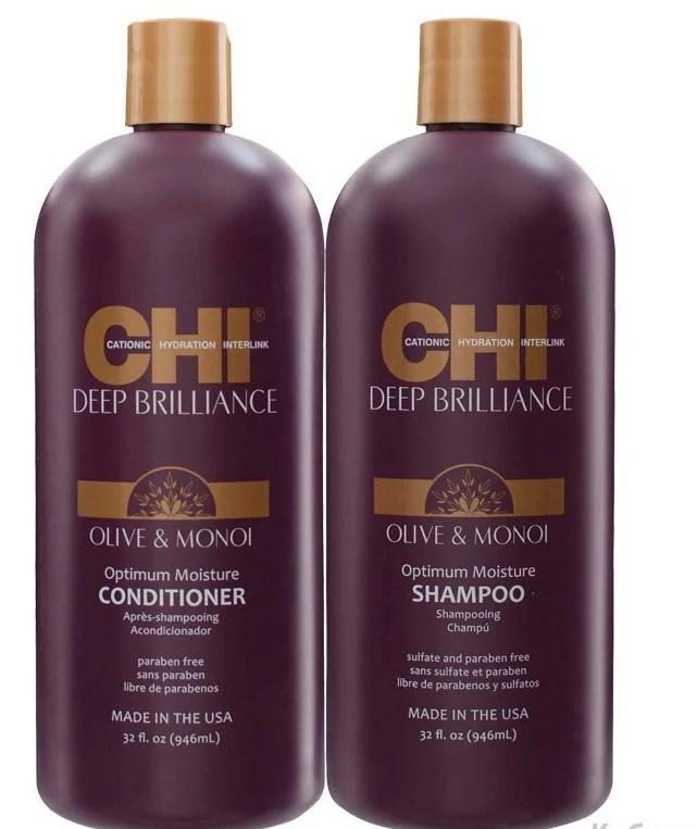 Набор для волос CHI Deep Brilliance Hydration Duo 355*2