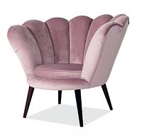 Кресло Magnolia Velvet ( Магнолия Вельвет античная роза)