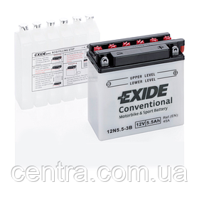 Мото аккумулятор EXIDE 12N5,5-3B