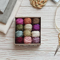 Набор мулине Spring  Quakers Valdani Floss Cotton Collections