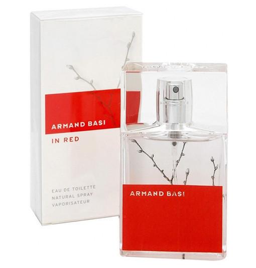 Armand Basi in Red 50ml edt (романтичный и утончённый аромат ассоциируется с хорошим настроением и отдыхом)