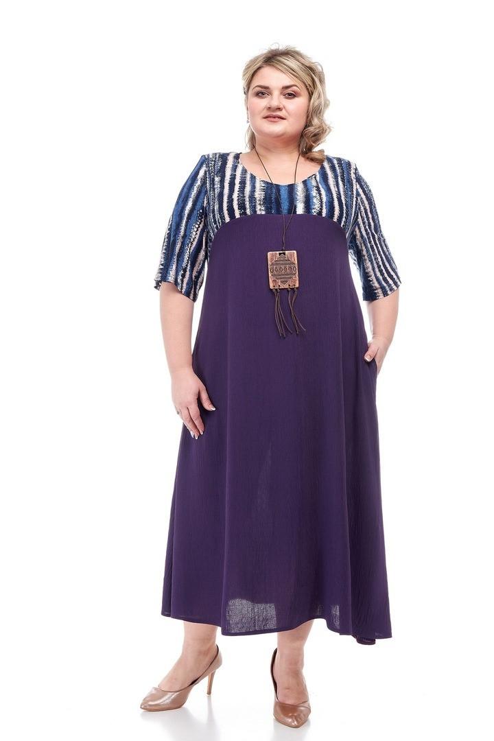 Нарядное женское платье батал Тоскана 2 цвета (64-70)