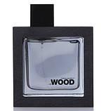 Dsquared2 He Wood Silver Wind Wood 100ml edt (уверенный, мужественный, соблазнительный), фото 4
