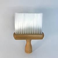 Сметка для волос DenIS professional с деревянной ручкой, фото 1