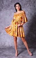 Женское платье из иск. шелка Poliit 8706, фото 1