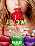 DKNY Donna Karan Delicious Candy Apples Ripe Raspberry 50ml edp (сочный, ягодный, сексуальный аромат), фото 5