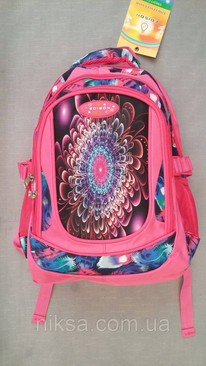 Рюкзак городской для девочки размер 35х30х15