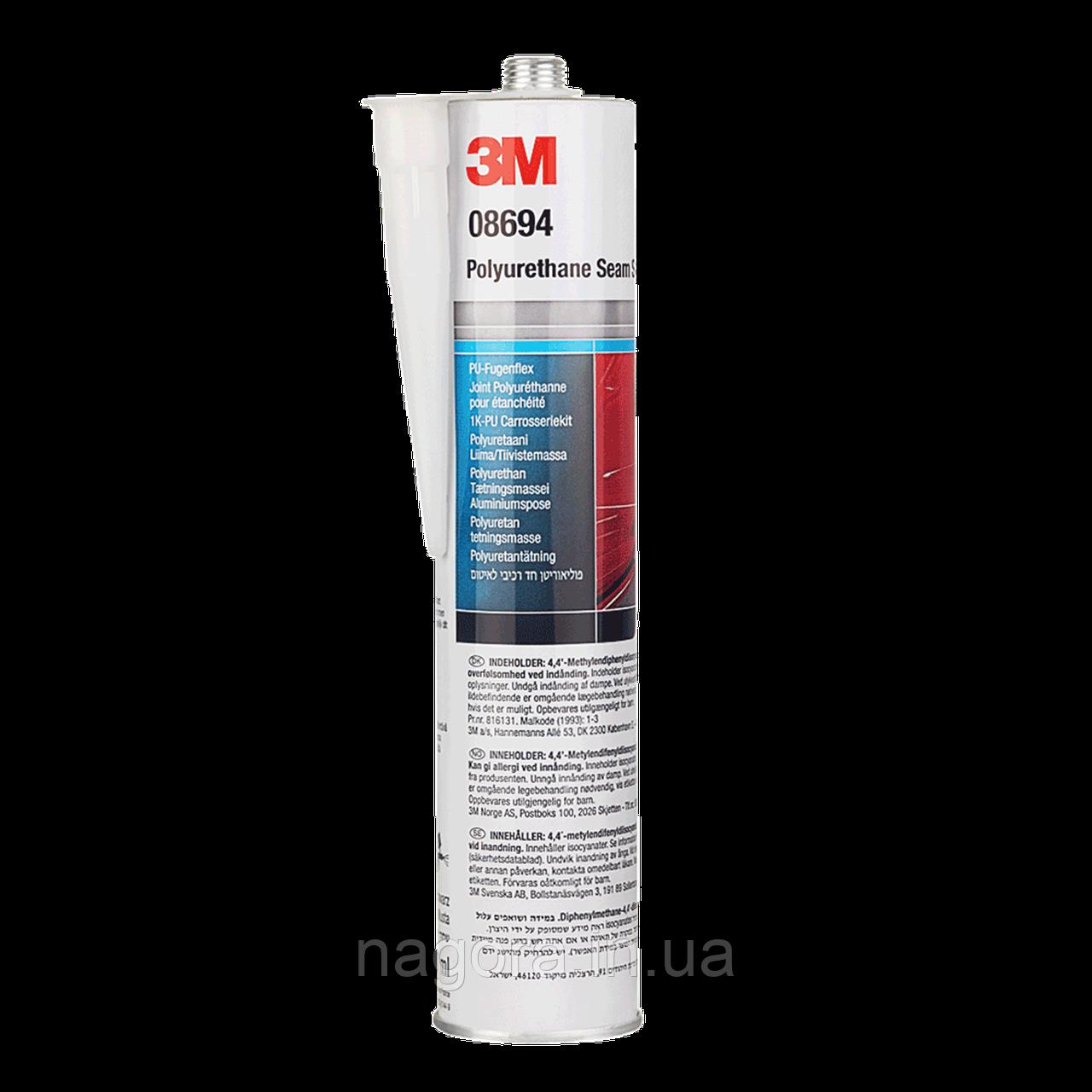 Полиуретановый герметик 3M™ черный (310мл)