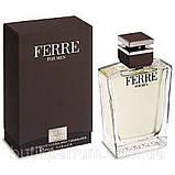 Мужской парфюм Оригинал Ferre For Men 100ml edt (элегантный, мужественный, харизматичный, обольстительный), фото 7