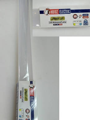 Светильник ip-65 светодиодный 36W Horoz Electric IRMAK-36 6400K, фото 2