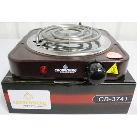 Настольная  Электро плита CB 3741 Crownberg стационарная, фото 2