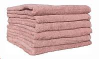 Махрове полотенце банне в 4-х кольорах. Пудра/бежевий.