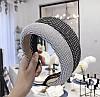Обруч для волос в камнях, модные обруч для волос со стразами, фото 2