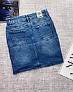 Джинсовая юбка с потертостями, фото 3