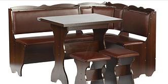Кухонный уголок Лорд,Раскладной стол