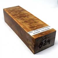 Стабилизированная древесина брусок Корельская береза  КРИЛАТ  134х43х33
