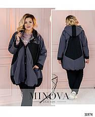 Куртка женская легкая батальная размеры:52-62, фото 3
