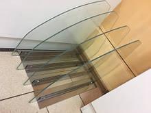 Скляна перегородка для холодильних вітрин