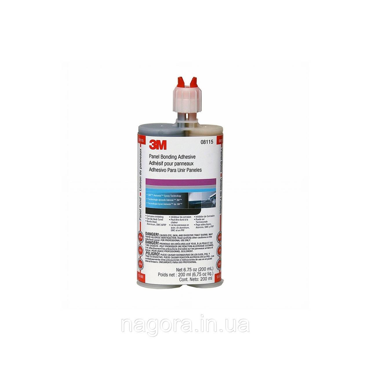 Двухкомпонентный эпоксидный клей 3M™ для кузовных деталей двойной картридж (200мл)