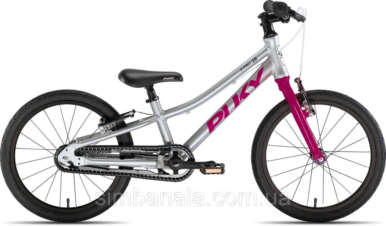 Дитячий велосипед Puky LS-PRO 18 (grey/berry)