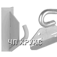 Бандажный крюк БК16 ,Крюк бандажный ГС16