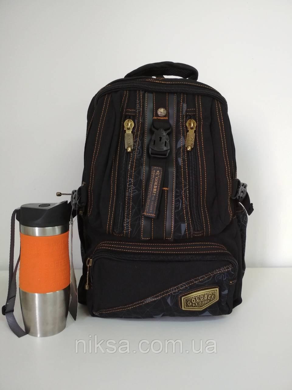 Рюкзак городской Cotton goldbe средний размер 40x18x30