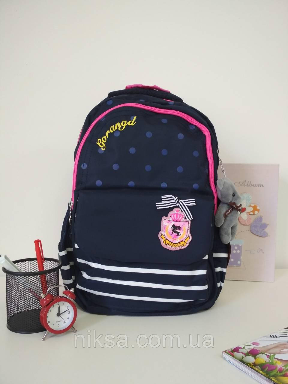 Рюкзак для девочек хорошее качество фирма Gorangd размер 40х25х17