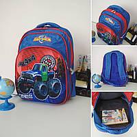 Рюкзак городской ортопедический для мальчиков и девочек размер 40х30х19, фото 1