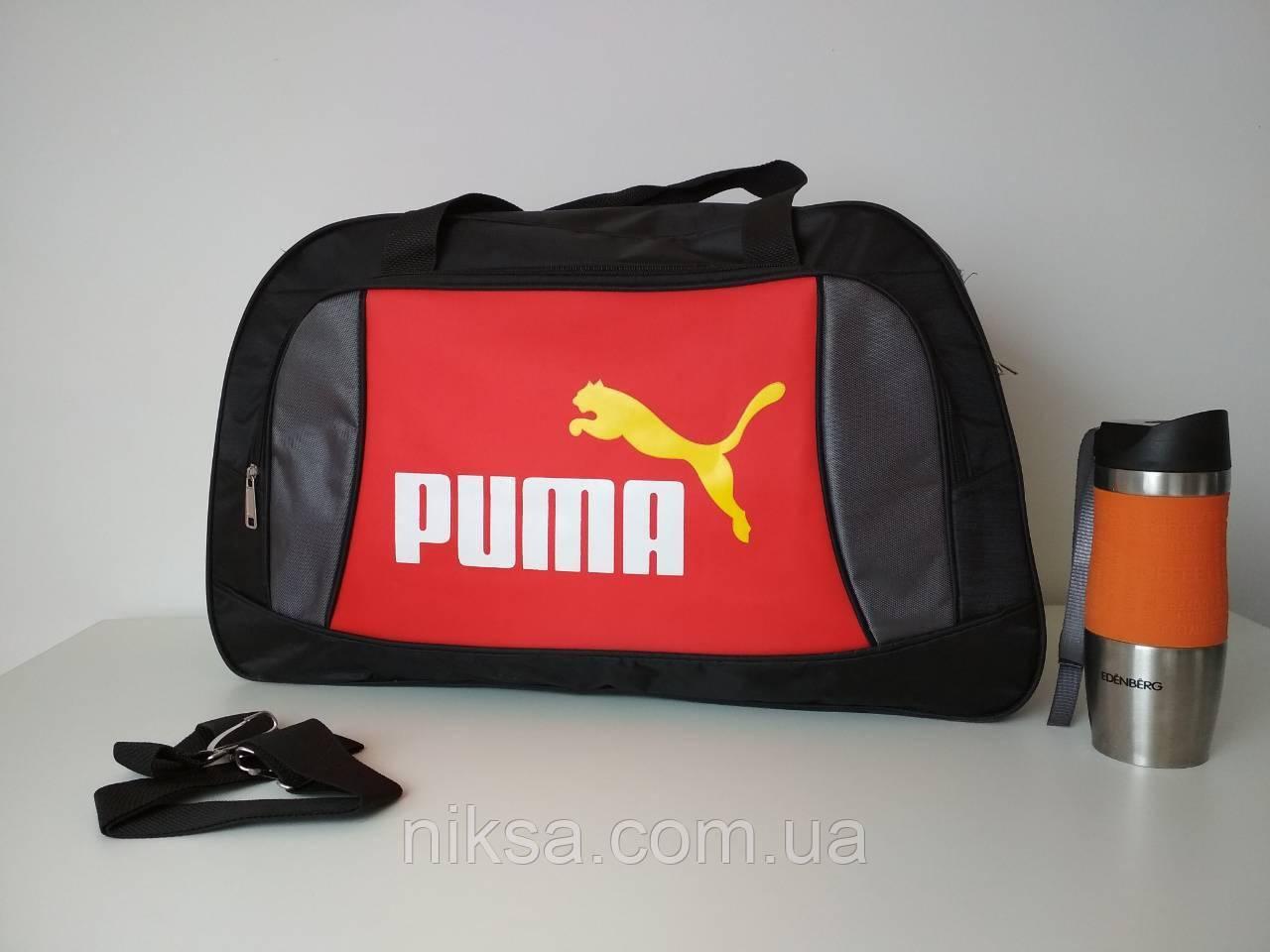 Сумка спорт, дорожная Puma размер 55x35x20