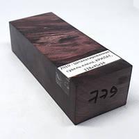 Стабилизированная древесина брусок Шпальтированная сувель клена  КРИЛАТ  118х45х34