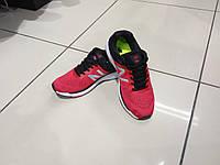 Кроссовки сетка NewBalance красные, фото 1