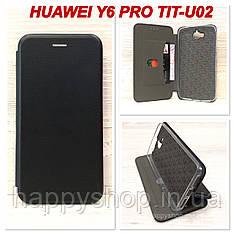 Чехол-книжка G-Case для Huawei Y6 Pro (TIT-U02) Черный