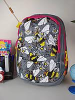Рюкзак школьный для девочек спинка ортопедическая на 2 отделения размер 40х20х19, фото 1