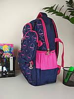 Рюкзак школьный для девочек размер 45х35х15, фото 1