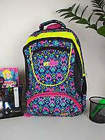 Рюкзак школьный для девочек размер 45х35х20, фото 1