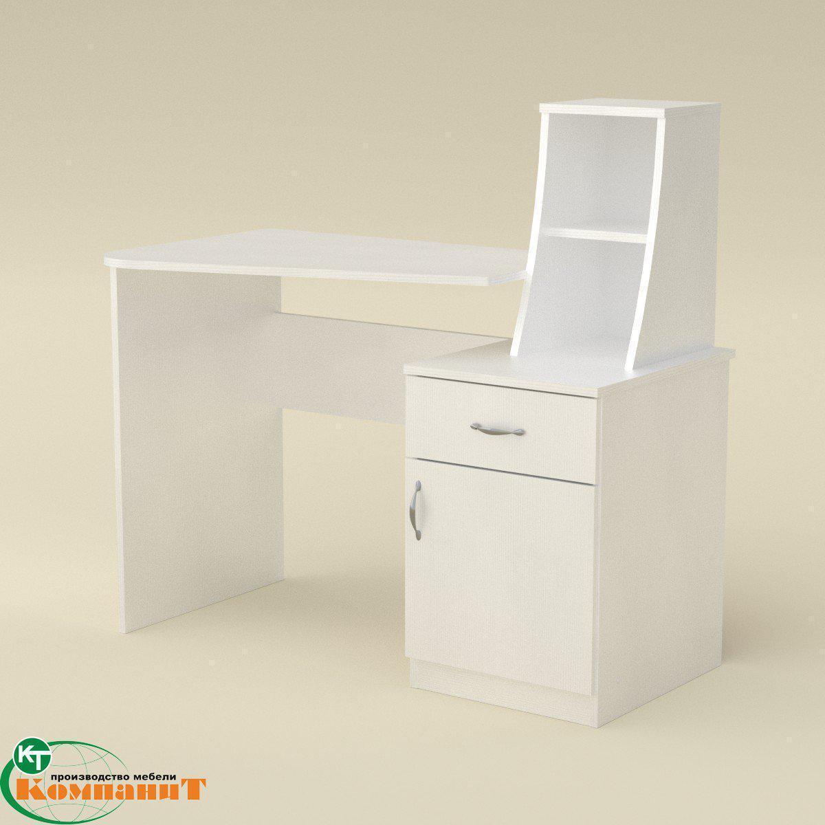 Стол письменный Школьник-3 альба