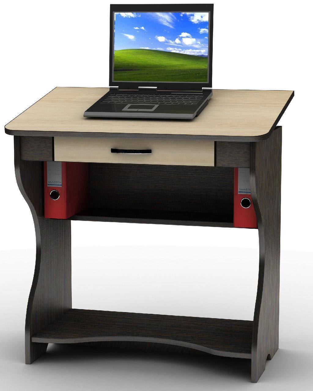 Компьютерный стол СУ-1к на колесиках